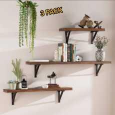 Wall Mounted Floating Shelves,Book Shelf,Display Ledge, Storage Rack for...