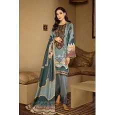 BQR-07 Embroidered Three Piece Lawn Collection