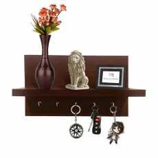 Wall Mounted Key Rack Hanging Stand Key Holder Keychain Rack Decor