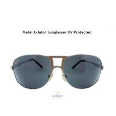 Metal Aviator Sunglasses UV Protected