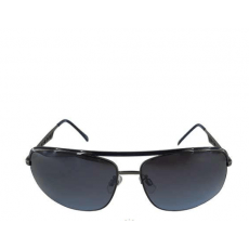 Oval Sunglasses Metal Silver