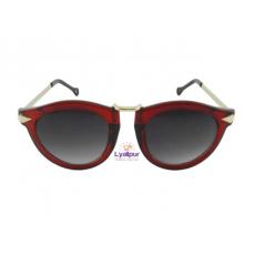 Cat Eye Sunglasses Arrow Metal Frame