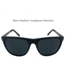 Black Wayfarer Sunglasses Polarized