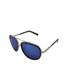 Blue Mirrored Silver Sunglasses