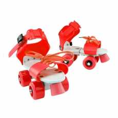 Roller skates shoes for Boys Skates Adjustable Size Double Row 4 Wheels...