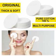 Makeup Remover Cotton Pads Absorbent Soft Touch Facial Cotton Pad For...