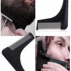 Beard Template Comb by DG WINSTARS: Template Shaving aid for a Proper Shave,...