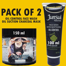 Oil Control Cleanser Face Wash Charcoal With Oil Suction Black Peel Off Mask