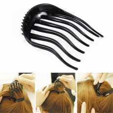 Useful Inserts Hair Clip Bun Maker Bouffant Volume Wedding Hair Comb Women...