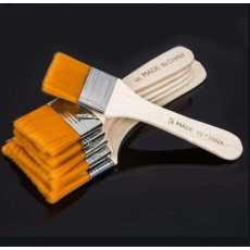 Pack of 4 - Nylon Hair Painting Brush Oil Watercolor Water Powder Propylene...