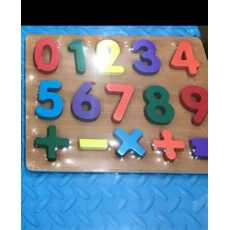Wooden Numeric Puzzle Toy