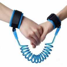 Kids Baby Safety Walking Harness Anti-Lost Strap Wrist Leash Children Hand...