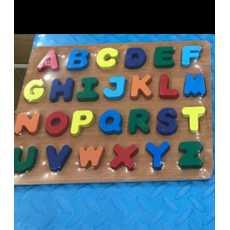 Wooden Alphabet Puzzle Toy