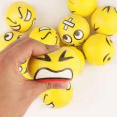 emoji shape round balls technology of world