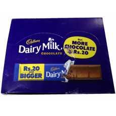 Dairy Milk Chocolate 20 gm (Pack Of 24)