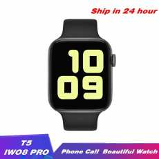 T5 pro Smart Watch With Calling Feature Heart Rate Blood Pressure Monitor For...