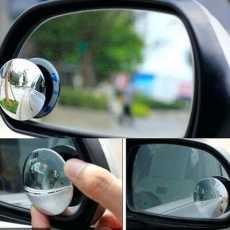 3D Blind Spot Convex Mirror Pair