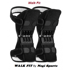 Walk Fit Power knee Support Protect Sports Knee pads Resistance Strap- Black...