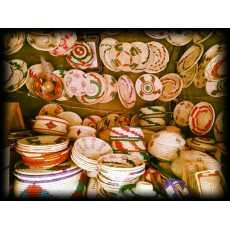 Beautiful hand made bread hotpots