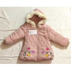 GIRL FASHION HOODED JACKET THICK EXTRA PADDED VELVET LINED HOODIES FOR COLD...