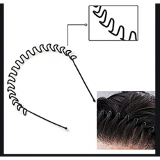 Premium Quality Pack of 2 Zigzag Wavy Hair Band For Men and Women