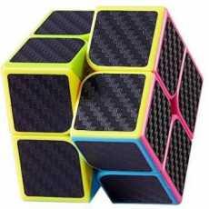 Carbon Fiber Rubiks cube 2X2 - Mind Puzzle Rubiks cube