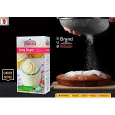 Springfield Icing Sugar Cake Dusting Decorating the Deserts 300gms