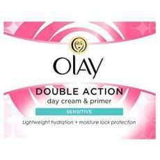 Olay Double Action Moisturiser Day Cream & Primer-50ml-UK