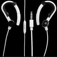 Super Deep Bass Sports Music Earphones/Handsfree W/ Microphone With Ear Hooks...