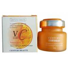 Century Beauty Vitamin C Waterproof Whitening Cream 50g - Imported