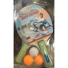 Imported Table Tennis Rackets with 3 balls