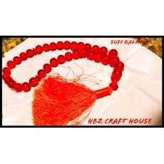 Sufi Qalndri Amber Sundlus Tasbih Misbaha Rosary from Turkey 012