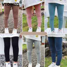 Pack of 2 Kids Multicolor Warm Leggings