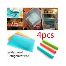 4pcs Refrigerator Pad Antibacterial Antifouling Mildew Moisture Tailorable...