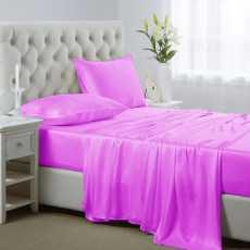 Bed Sheet in silk stuff