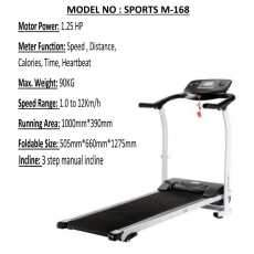 Motorized Electric Tredmill Running Machine
