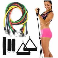 Power Resistance Bands Set Home Gym Extreme with Travel Bag Original Product