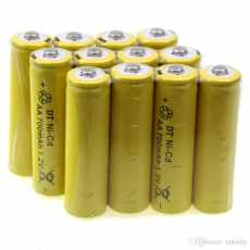 (Pack of 4 Cell) 1.2V Ni-Cd aa nicd 1.2v Rechargeable Cell nicd battery...