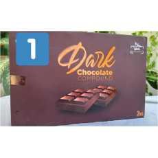 chocolate slab (Dark chocolate)