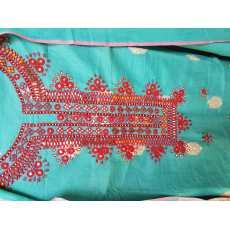 Arwa's Khadi Banarsi Sindhi Embroidery 3 Piece suits.