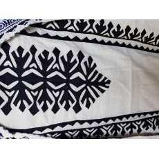 Arwa's Black& White Cutwork 3 Piece Suits