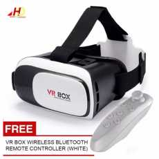 Mobile VR BOX with Bluetooth Remote Controller Virtual Reality - VR Box 2.0...