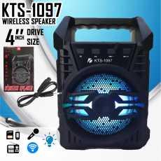 Portable Wireless Speaker KTS-1097 Bluetooth With FM Radio USB/TF/AUX/BT Mini...