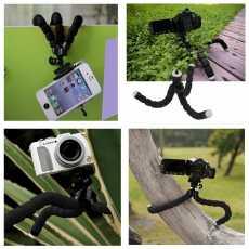 New Mini CellPhone 360,degree Rotateable Octopus Flexible Tripod Mobile Phone...