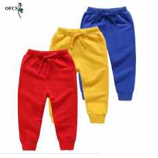 New time collection pack of 3 Autumn winter Boys Pants Warm toddler Clothes...