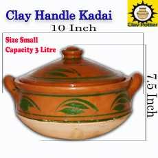 Mitti ki Kadai Handle ke sat  Clay Cooking Kadahi  Best of Cooking Karahi