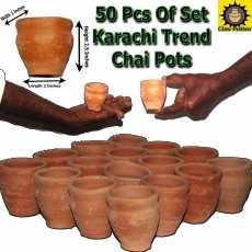 Clay Kadai  Traditional Pot  Mitti ki Kadai  Clay Cookware  Large Size