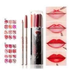 Pack Of 12 - New Cosmetics Matte Lip Liner Pencil Makeup.