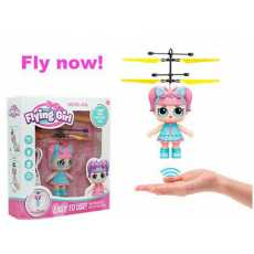 Rechargeable Cute Flying Girl Inductive Toy