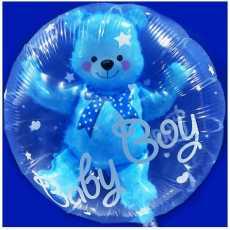 1 Piece Double Layer Foil Balloons Bear Foil Balloon
